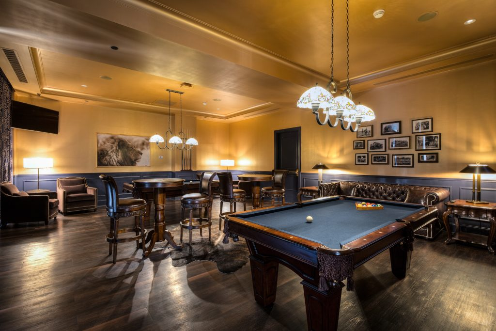 The Read House Billiards Room