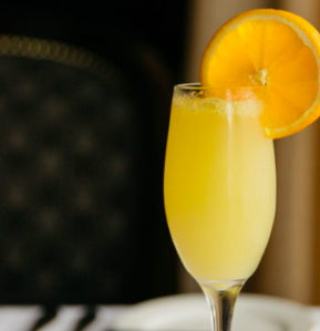 mimosa at bridgeman's sunday gospel brunch