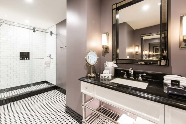 Upscale Bathroom in the Chattanooga Penthouse Suite at The Read House