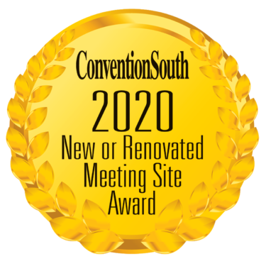 ConventionSouth's 2020Top New or Renovated Meeting Site Award